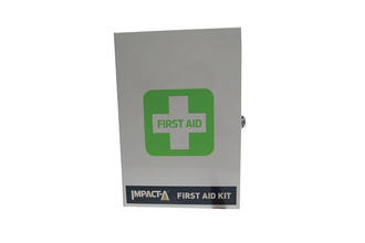 Workplace First Aid Kit - Metal Cabinet