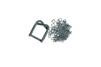20mm Phosphate Coated Buckles - Bag 100