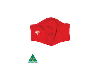 Envirus Reusable Everyday Mask - Red. Aussie Made. ***PRE ORDER NOW***