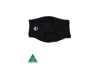 Envirus Reusable Everyday Mask - Black. Aussie Made. ***PRE ORDER NOW***